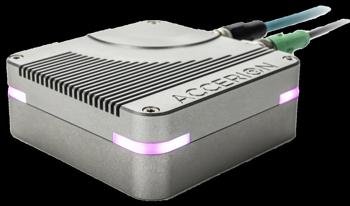 Accerion's localization sensor, Triton